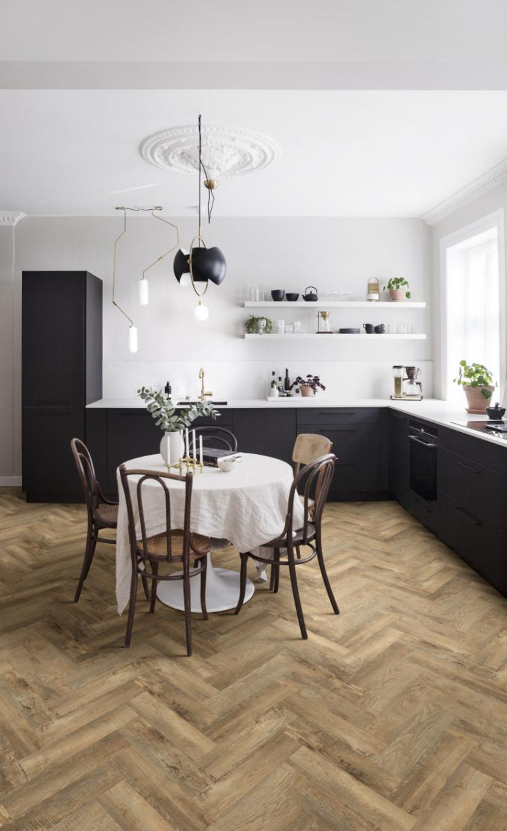 ПВХ  Модулео PARQUETRY SHORT Impress 54852  COUNTRY OAK (2,5мм-0,55мм)