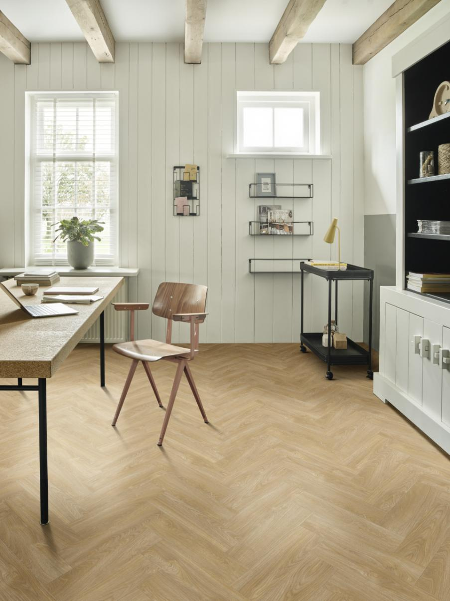 ПВХ  Модулео PARQUETRY SHORT Impress 51282 Laurel Oak (2,5мм-0,55мм)